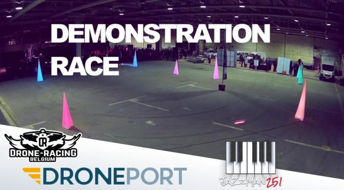 Drone-Racing-Belgium-Droneport-Demonstration-Race