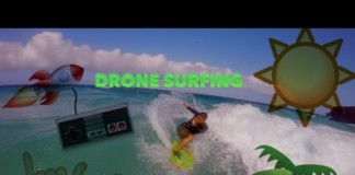 FPV-DRONE-SURFING