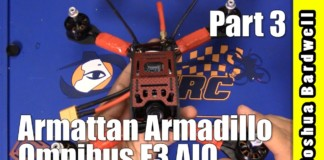 SUPER-ANNOYING-QUADCOPTER-BUILD-Armattan-Armadillo-Omnibus-F3-PART-3