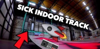 Indoor-track-by-DroneRacers.nl-Overtaking-Crashing