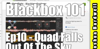 CLEANFLIGHT-BETAFLIGHT-RACEFLIGHT-KISS-BLACKBOX-101-Ep10-Why-Did-The-Quad-Fall-Out-Of-The-Air