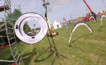 Caged-In-Drone-Racing-Demo-Volkel-In-De-Wolken