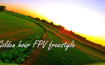 Golden-hour-FPV-freestyle