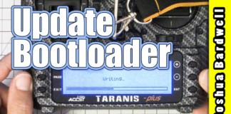 How-To-Update-The-Taranis-Bootloader