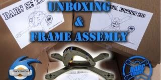 Drone-Darc-Se-210mm-Unboxing-Frame-Assembly-Montaje