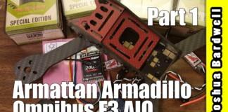 QUADCOPTER-BUILD-Armattan-Armadillo-Omnibus-F3-PART-1