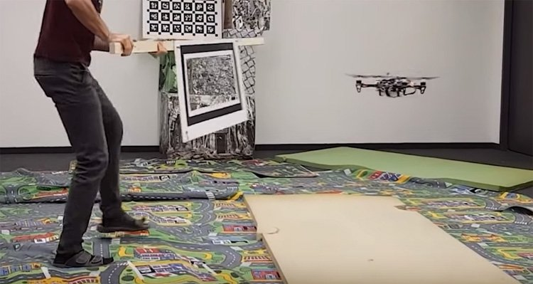 Autonomous Racing Drone