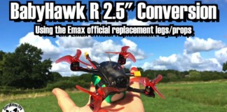 Converting-a-BabyHawk-R-2-to-a-2.5-with-the-Emax-armsprops-kit-supplied-by-Banggood