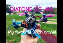 Diatone-GT-M3-Maiden-Flight-Fast-And-Smooth-INDEED